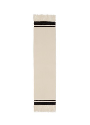 Main View - Click To Enlarge - Isabel Marant - 'Carlyn' stripe cashmere knit blanket scarf