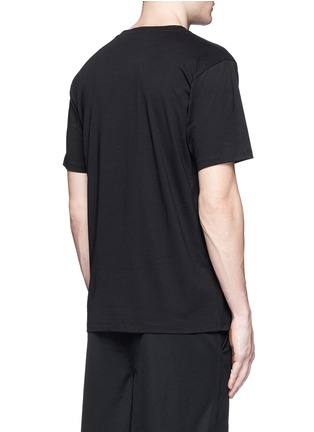 Back View - Click To Enlarge - Marcelo Burlon - 'Lonquimay' wing print T-shirt