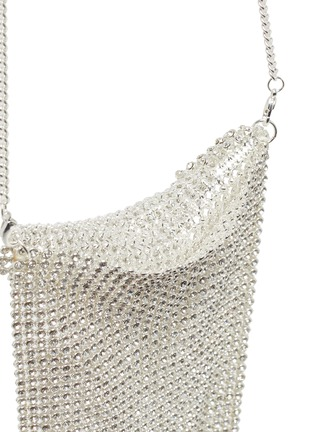 Detail View - Click To Enlarge - ONE OF A KIND - Fringed crystal kids crossbody bag