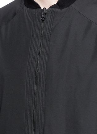 Detail View - Click To Enlarge - Marcelo Burlon - 'Rahue' reversible long jacket