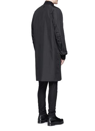 Back View - Click To Enlarge - Marcelo Burlon - 'Rahue' reversible long jacket