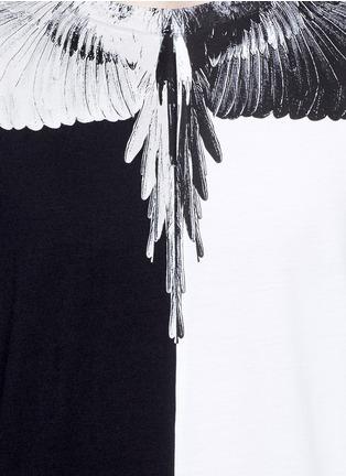 Detail View - Click To Enlarge - Marcelo Burlon - Lagunas Bravas' wing print T-shirt