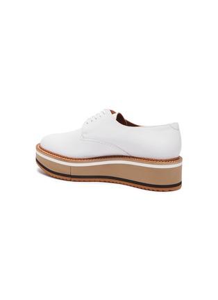 - CLERGERIE - 'Brook' Lambskin Leather Platform Derby Shoes
