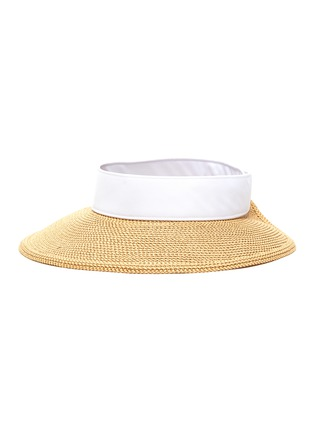 Main View - Click To Enlarge - ERIC JAVITS - Squishee® Packable Straw Visor