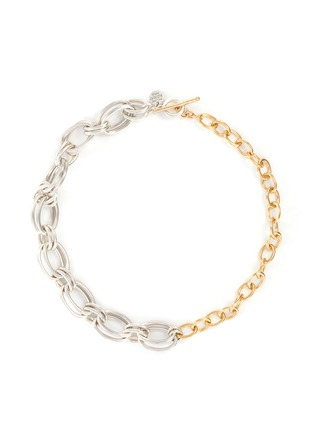 Main View - Click To Enlarge - PHILIPPE AUDIBERT - Rony' silver- and gold-plated multi-link necklace