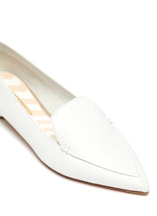 Detail View - Click To Enlarge - NICHOLAS KIRKWOOD - Beya' metal heel leather loafers