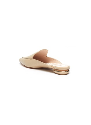 - NICHOLAS KIRKWOOD - Beya' metal heel leather mules