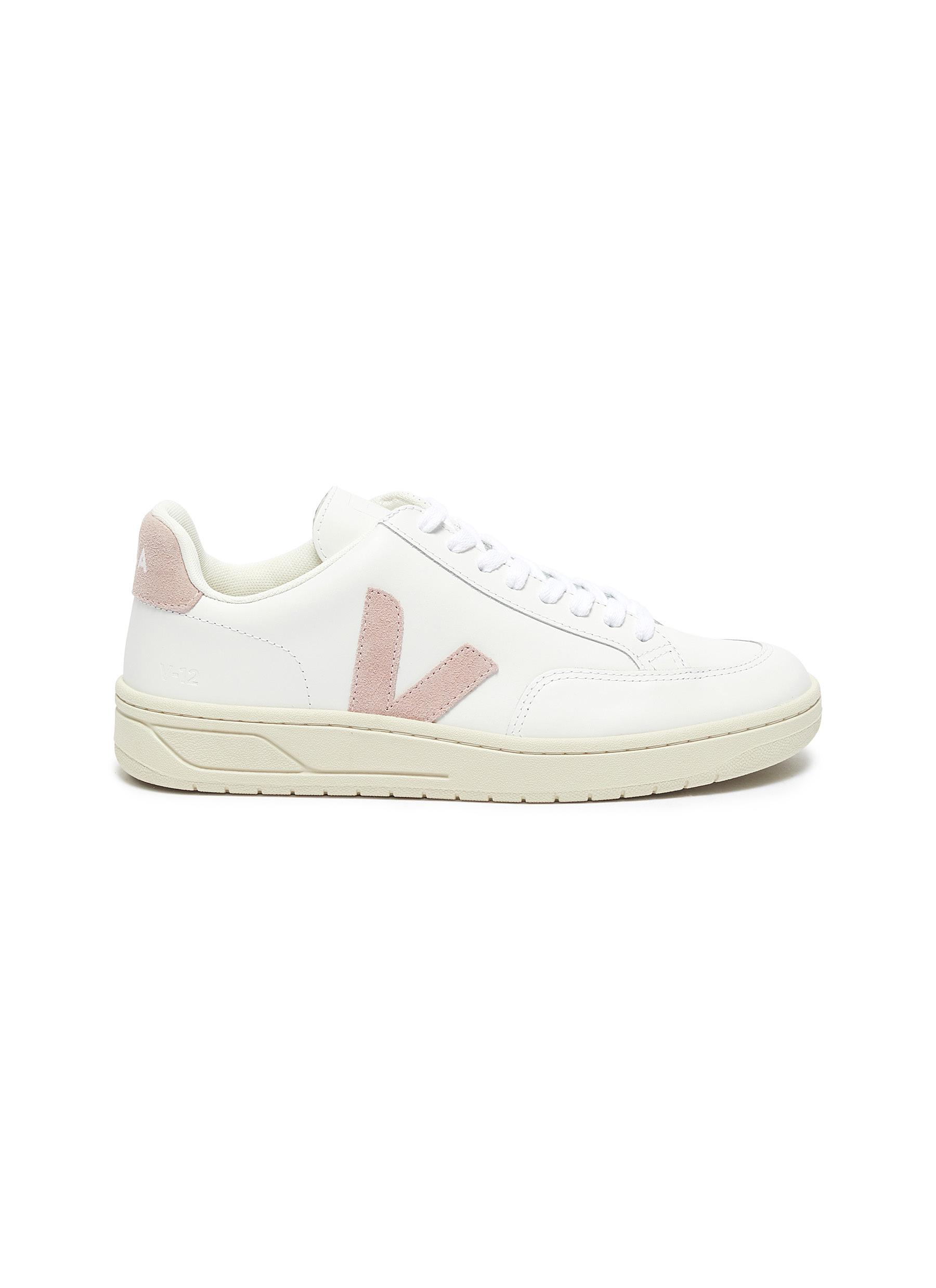Main View - Click To Enlarge - VEJA - V-12' Low Top Leather Sneakers