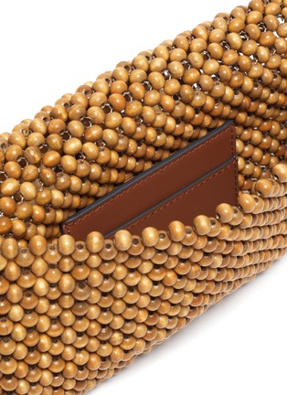 Detail View - Click To Enlarge - ANYA HINDMARCH - 'Eyes' Beaded Clutch