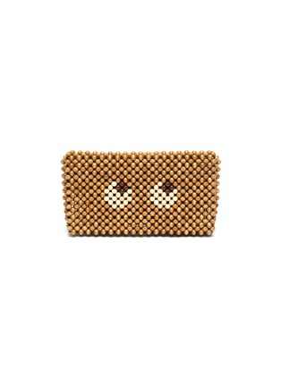 Main View - Click To Enlarge - ANYA HINDMARCH - 'Eyes' Beaded Clutch
