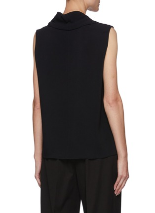Back View - Click To Enlarge - THE ROW - Cowl neck sleeveless knit top