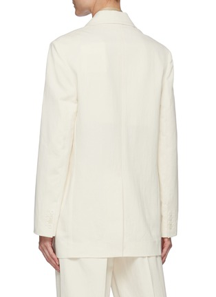 Back View - Click To Enlarge - THE ROW - Double breast blazer