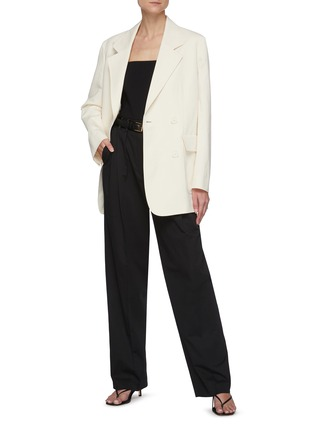 Figure View - Click To Enlarge - THE ROW - Tapered suiting pants