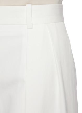 - THE ROW - Centre Pleat Cotton Tailor Pants