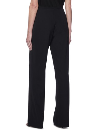 Back View - Click To Enlarge - THE ROW - High waist straight leg suiting pants