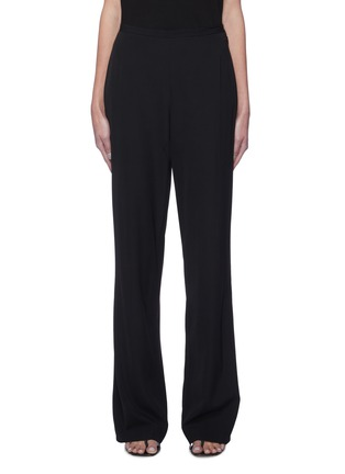 Main View - Click To Enlarge - THE ROW - High waist straight leg suiting pants