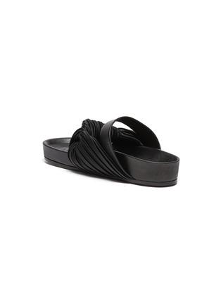 - JIL SANDER - Knotted leather sandals