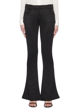 Main View - Click To Enlarge - BALMAIN - Flare Leg Low Waist Pants