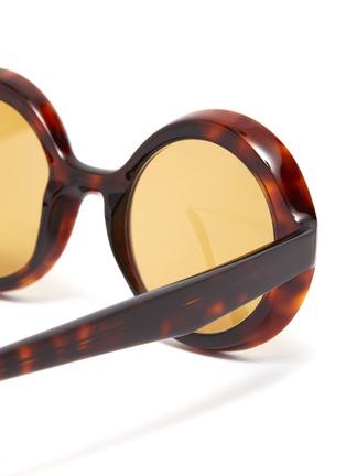 Detail View - Click To Enlarge - LAPIMA - 'Carolina' round acetate frame sunglasses