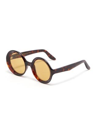 Main View - Click To Enlarge - LAPIMA - 'Carolina' round acetate frame sunglasses