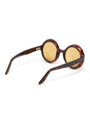 Figure View - Click To Enlarge - LAPIMA - 'Carolina' round acetate frame sunglasses