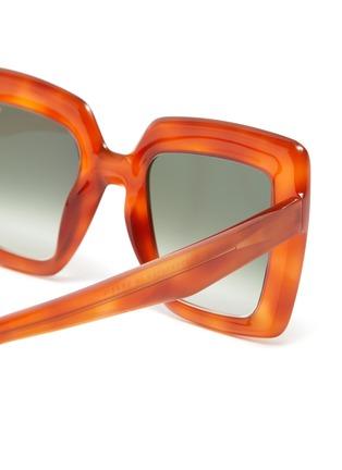 Detail View - Click To Enlarge - LAPIMA - 'Teresa' square tortoiseshell effect acetate frame sunglasses
