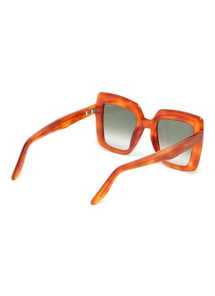 Figure View - Click To Enlarge - LAPIMA - 'Teresa' square tortoiseshell effect acetate frame sunglasses