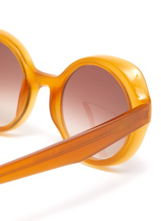 Detail View - Click To Enlarge - LAPIMA - 'Carlota' Round Acetate Frame Sunglasses