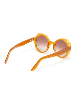 Figure View - Click To Enlarge - LAPIMA - 'Carlota' Round Acetate Frame Sunglasses