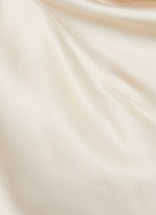 - JIL SANDER - Cowl neck satin blouse