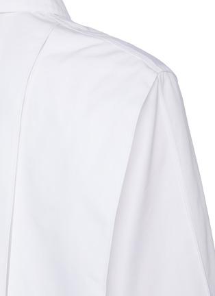 - JIL SANDER - Cropped poplin shirt