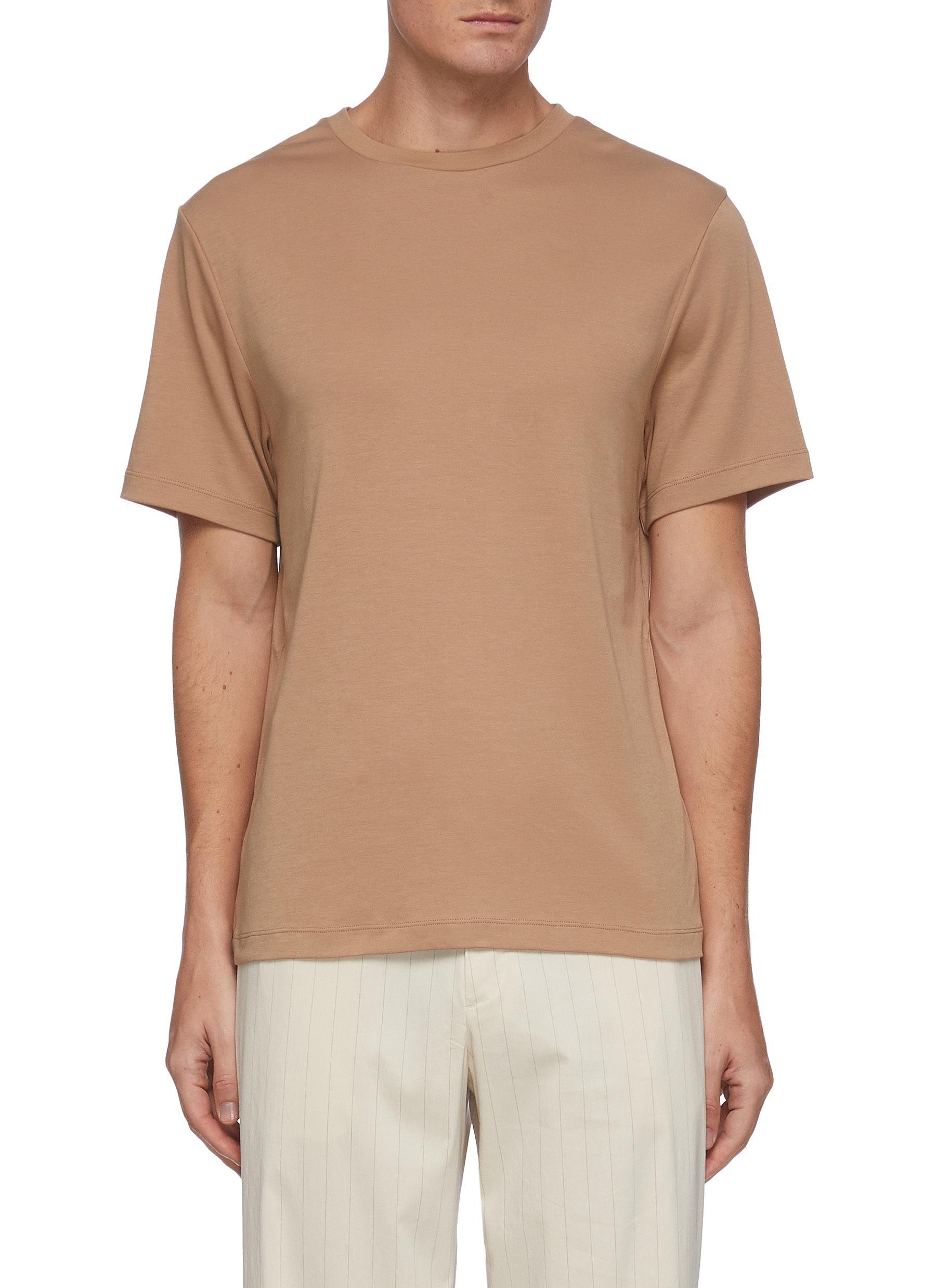 Slim cotton T-shirt