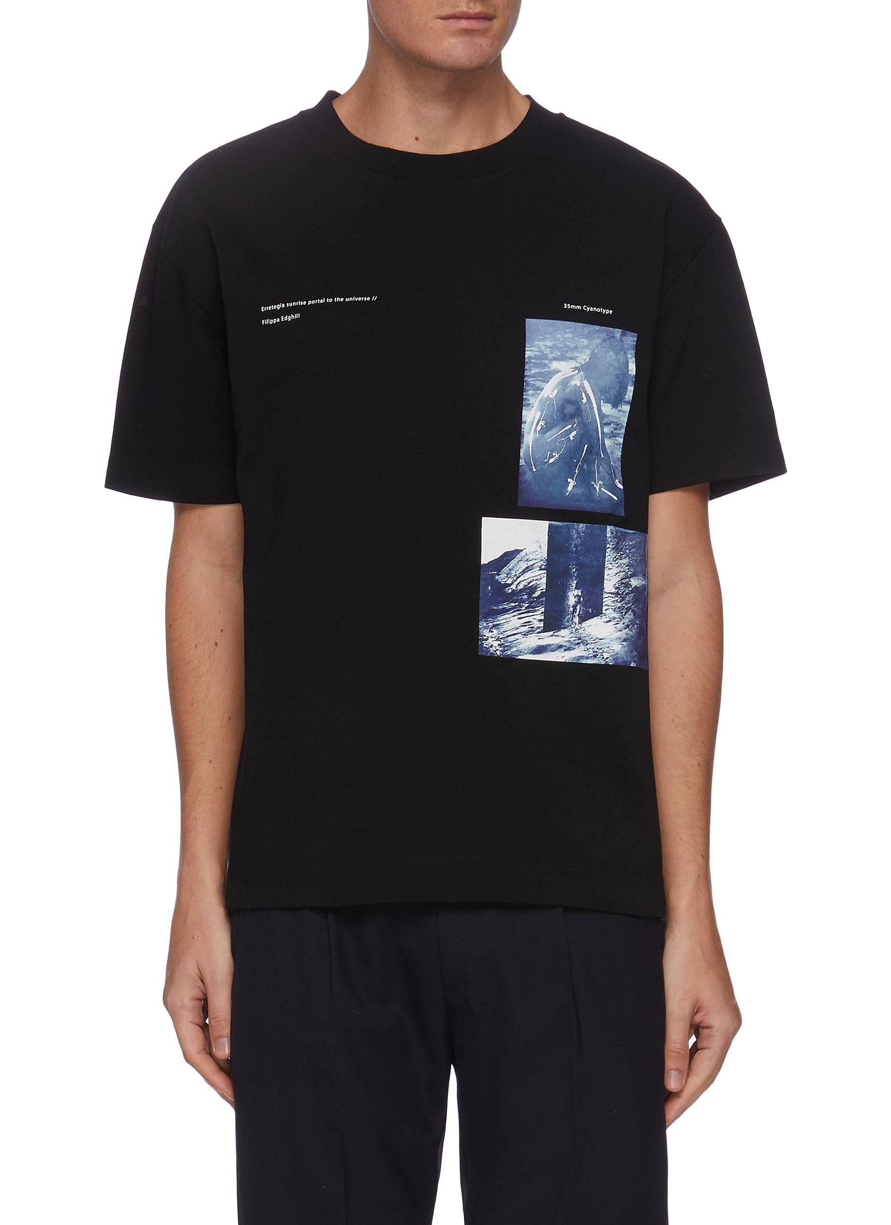 x Filippa Edghill graphic print T-shirt