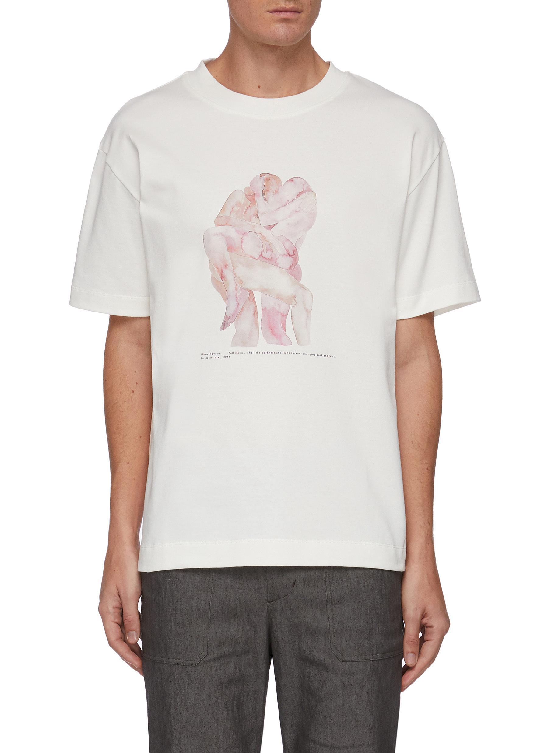 x Filippa Edghill Chest Graphic Print T-shirt