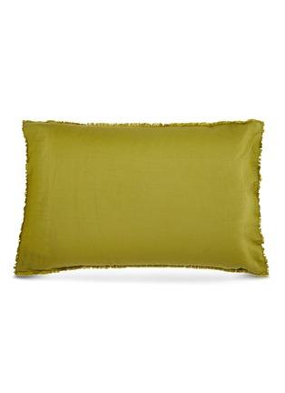 Main View - Click To Enlarge - SOCIETY LIMONTA - Saten Pillow Case Set – Kiwi