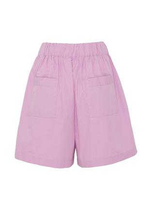 - TEKLA - Unisex Organic Cotton Poplin Small Pyjama Shorts – Purple Pink