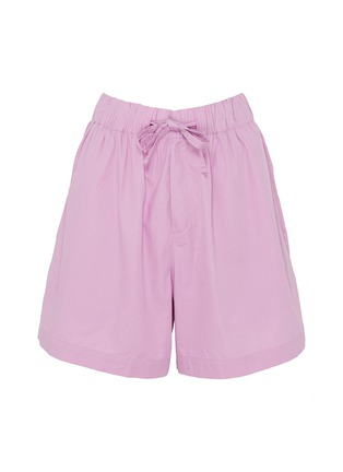 Main View - Click To Enlarge - TEKLA - Unisex Poplin Shorts