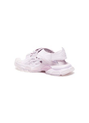- BALENCIAGA - Logo embossed velcro trap track sandals