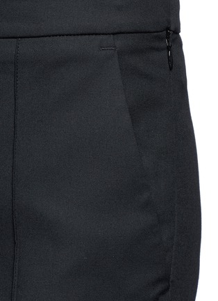 Detail View - Click To Enlarge - Ellery - 'Bulgaria' cady cropped flare pants