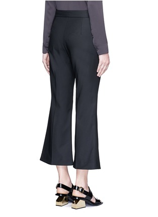 Back View - Click To Enlarge - Ellery - 'Bulgaria' cady cropped flare pants