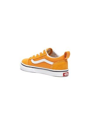 Detail View - Click To Enlarge - VANS - 'Old Skool' Low Top Elastic Lace Toddler Sneakers
