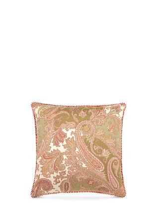 Main View - Click To Enlarge - Etro - Zanzibar Dominca paisley print cushion