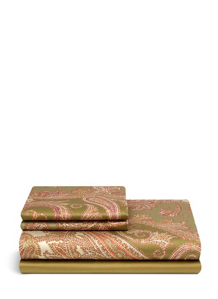Main View - Click To Enlarge - Etro - Zanzibar Dominca paisley print king size duvet set