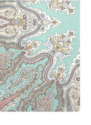 Detail View - Click To Enlarge - Etro - Zanzibar Brunei paisley print king size duvet set