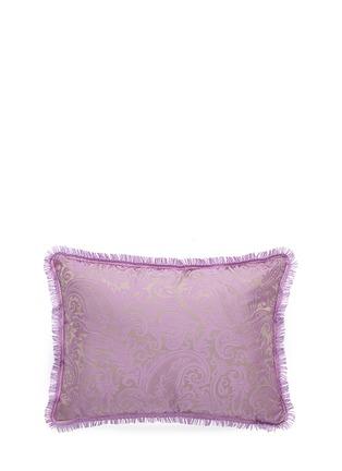 Main View - Click To Enlarge - Etro - Chambord Chenoceau paisley jacquard cushion