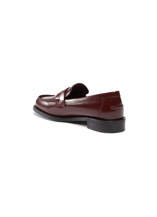 - PEDDER RED - 'Bay' patent leather loafers