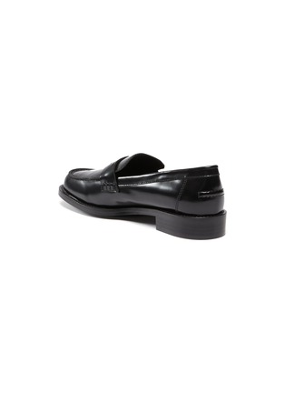 - PEDDER RED - Bay' patent leather loafers