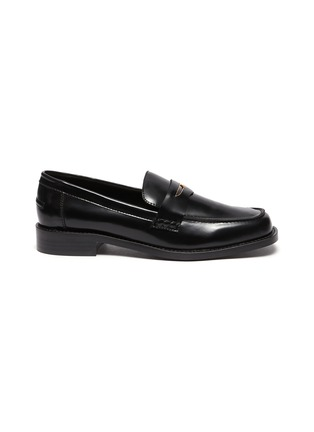 Main View - Click To Enlarge - PEDDER RED - Bay' patent leather loafers