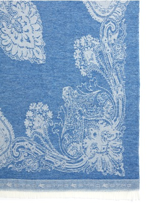 Detail View - Click To Enlarge - Etro - Cali Tulua wool-cashmere paisley jacquard travel throw