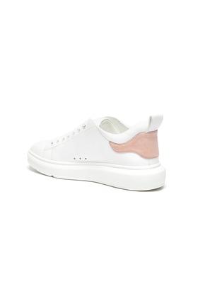- PEDDER RED - 'Megan' contrast tab leather sneakers